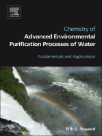 Chemistry of Advanced Environmental Purification Processes of Water