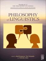 Philosophy of Linguistics