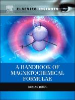 A Handbook of Magnetochemical Formulae