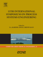 11th International Symposium on Process Systems Engineering - PSE2012