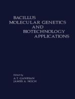 Bacillus Molecular Genetics and Biotechnology Applications