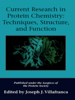 Current Research in Protein Chemistry: Techniques, Structure, and Function