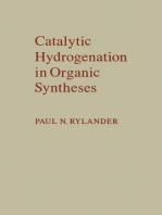 Catalytic Hydrogenation in Organic Syntheses