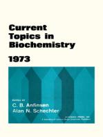 Current Topics in Biochemistry 1973