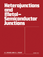 Heterojunctions and Metal Semiconductor Junctions