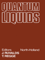 Quantum Liquids