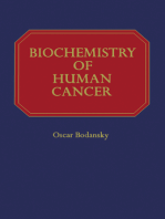 Biochemistry of Human Cancer