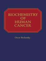 Biochemistry of Human Cancer