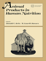 Animal Products in Human Nutrition