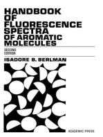 Handbook of florescence spectra of Aromatic Molecules