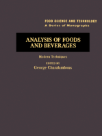 Analysis of Foods and Beverages