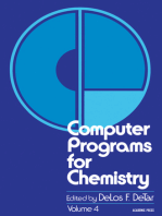 Computer Programs for Chemistry