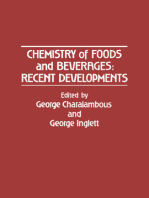 Chemistry of Foods and Beverages: Recent Developments