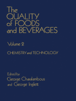 The Quality of Foods and Beverages V2