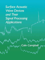 Surface Acoustic Wave Devices and Their Signal Processing Applications