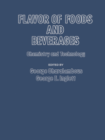 Flavor of Foods and Beverages: Chemistry and Technology