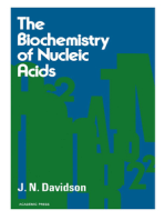 The biochemistry of the Nucleic Acids