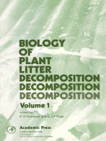 Biology of Plant Litter Decomposition V1