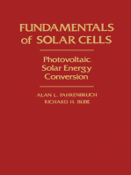 Fundamentals Of Solar Cells