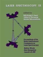 Laser spectroscopy IX