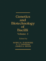 Genetics and Biotechnology of Bacilli