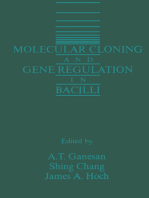 Molecular Cloning and Gene Regulation in Bacilli