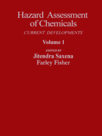 Hazard Assessment of Chemicals: Current Departments
