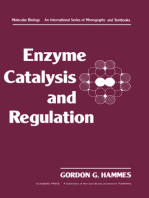 Enzyme Catalysis and Regulation