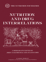 Nutrition and Drug Interrelations