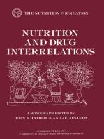 Nutrition and Drug Interrelations