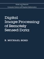 Digital Image Processing of Remotely Sensed Data
