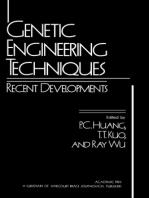 Genetic Engineering Techniques