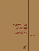 Activation Analysis Handbook