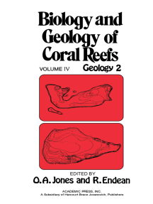 Biology and Geology of Coral Reefs V4: Geology 2