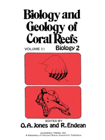 Biology and Geology of Coral Reefs V3: Biology 2