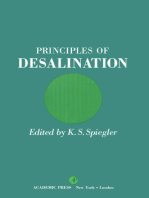 Principles of Desalination