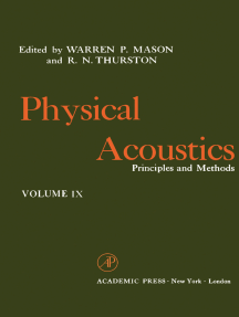 Physical Acoustics V9: Principles and Methods
