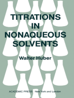 Titrations in Nonaqueous Solvents
