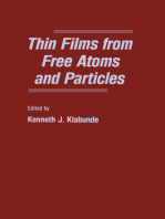 Thin Films From Free Atoms and Particles