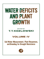 Soil Water Measurement, Plant Responses, and Breeding for Drought Resistance