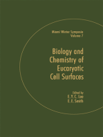 Biology and Chemistry of Eukaryotic Cell Surfaces