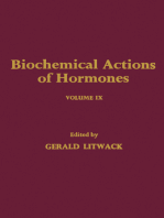 Biochemical Actions of Hormones V9