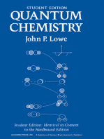 Quantum Chemistry Student Edition