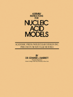 Assembly Instructions for Nucleic Acid Models