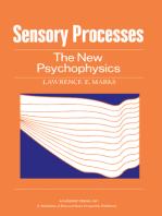 Sensory Processes: The New Psychophysics