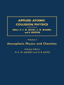 Applied Atomic Collision Physics: Atmospheric Physics and Chemistry