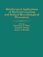 Metallurgical Applications of Bacterial Leaching and Related Microbiological Phenomena
