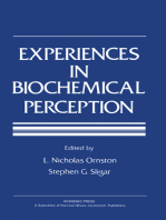 Experiences in Biochemical Perception
