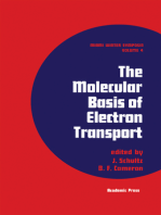 The Molecular Basis of Electron Transport