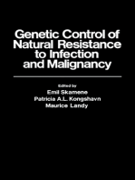 Genetic Control of Natural Resistance to Infection and Malignancy